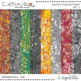 Marble Painted Papers Vol. 1 (CU)