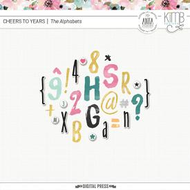 Cheers To Years : The Alphabets