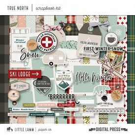 True North | Scrapbook Kit