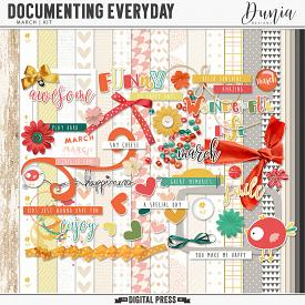 Documenting Everyday | March - Kit