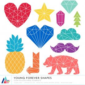 Young Forever Shapes (CU)