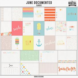 June Documented (Cards)