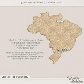 Great Escape:  Brazil | The Corkboard