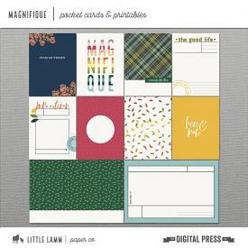 Magnifique | Pocket Cards and Printables