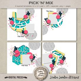 Pick N mix | Templates