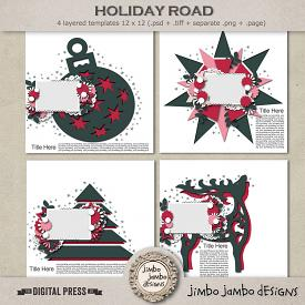 Holiday road | Templates