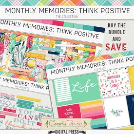 MONTHLY MEMORIES: THINK POSITIVE| COLLECTION