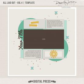 All Laid Out - Vol 4 | Template