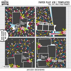 Paper Play 18 | Templates