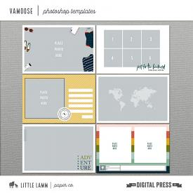 Vamoose | Photoshop Templates