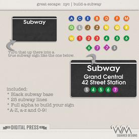 Great Escape:  NYC | Build-A-Subway
