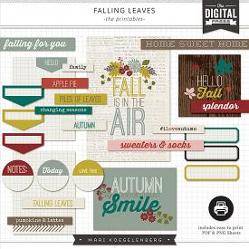 Falling Leaves | The Printables