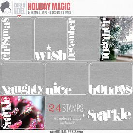 Holiday Magic | frame stamps