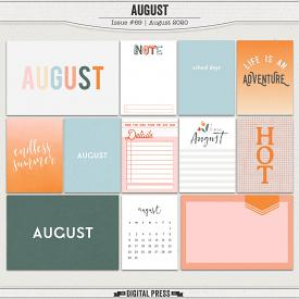 August | Pocket Cards
