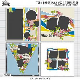 Torn Paper Play 02 | Templates