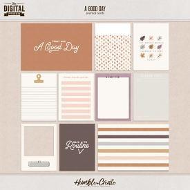 A Good Day | Journal Cards