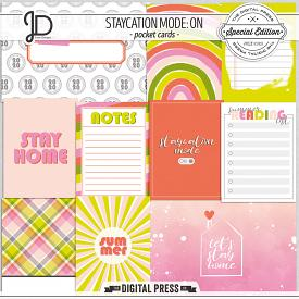 Staycation Mode: ON | Pocket Cards