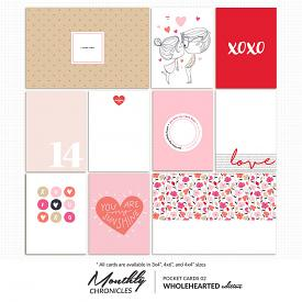 Monthly Chronicles | Wholehearted Pocket Cards 02
