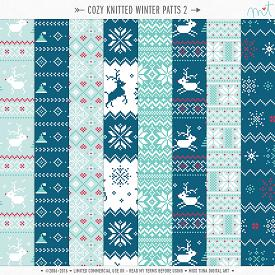 Cozy Knitted Winter Patts 2 (CU)