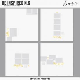 Be Inspired N.6 | Layered Templates