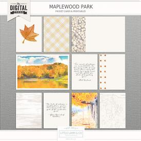 Maplewood Park│Pocket Cards & Printables