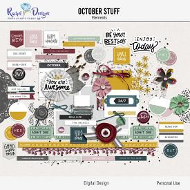 October Stuff | Elements