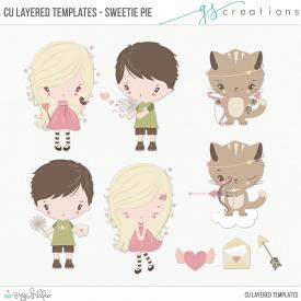 Sweetie Pie Layered Templates (CU)