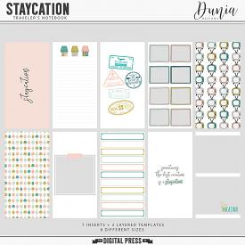 Staycation | Traveler's Notebook