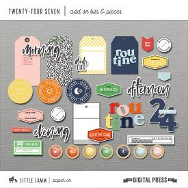 Twenty-Four Seven | Add-On Bits and Pieces