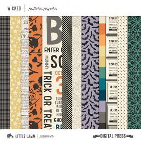 Wicked | Pattern Papers