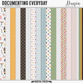 Documenting Everyday | November - Papers