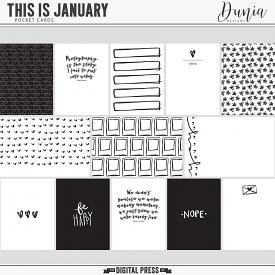 This is January | Cards