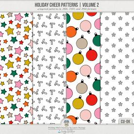 Holiday Cheer Patterns | Volume 2 (CU)
