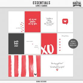 Essentials | Love - Cards