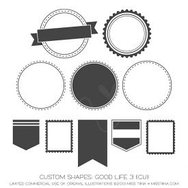 Good Life 3 Shapes (CU)