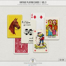Vintage Playing Cards Volume 3 (CU)