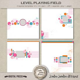 Level playing field | Templates