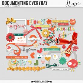 Documenting Everyday | March - Elements