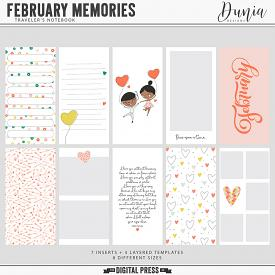 February Memories | Traveler's Notebook