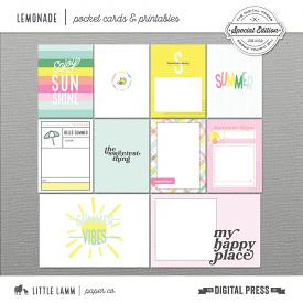 Lemonade│Pocket Cards and Printables