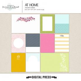 At home - journaling cards