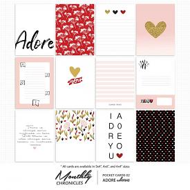 Monthly Chronicles   Adore Pocket Cards 02
