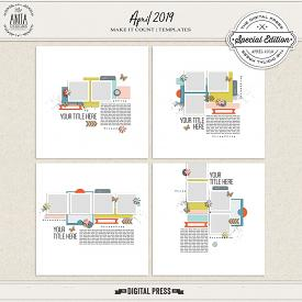 Make it count: April 2019 | templates