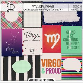 My Zodiac | Virgo - Pocket Cards