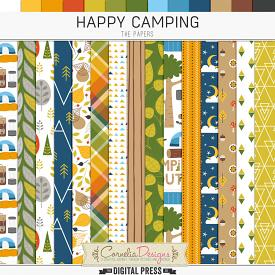 HAPPY CAMPING | PAPERS