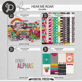 Hear Me Roar | Bundle by Juno Designs and Amber LaBau