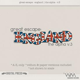 Great Escape:  England | The Alpha V.3