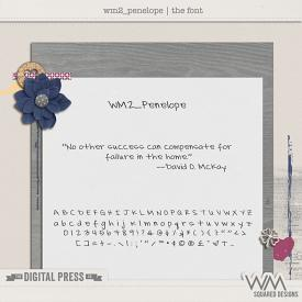 wm2_Penelope | The Font