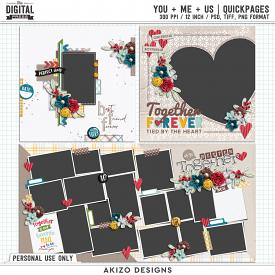 You + Me = Us | Quickpages