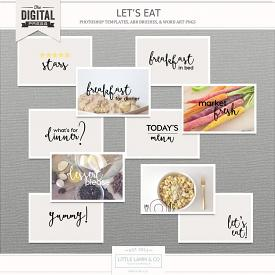 Let's Eat | Photo Templates